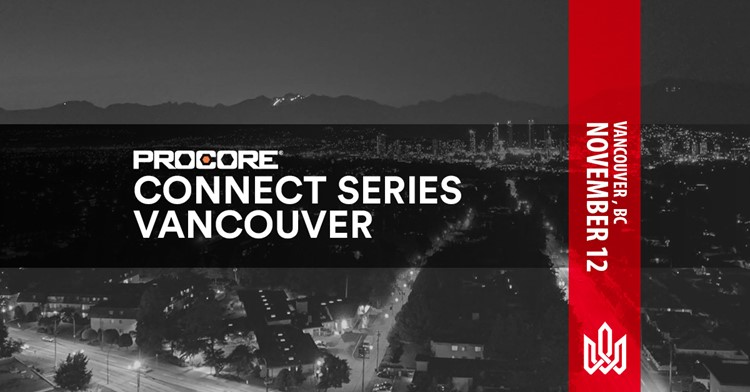 Procore Connect Banner