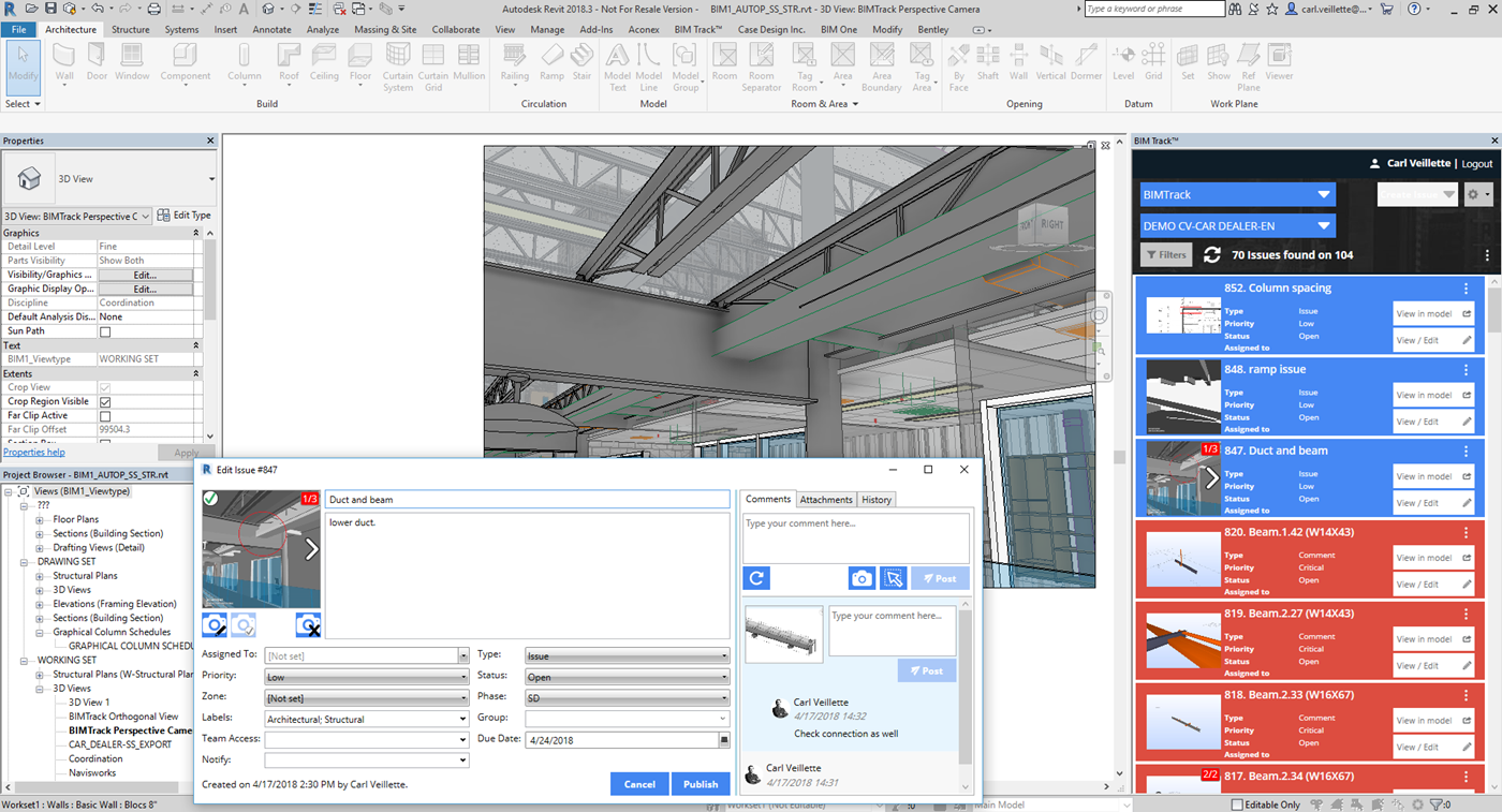 BIM Track : Better coordination, better buildings